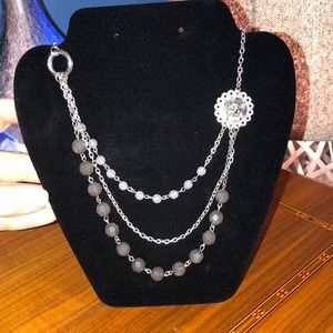 Statement Necklace with extender chain
